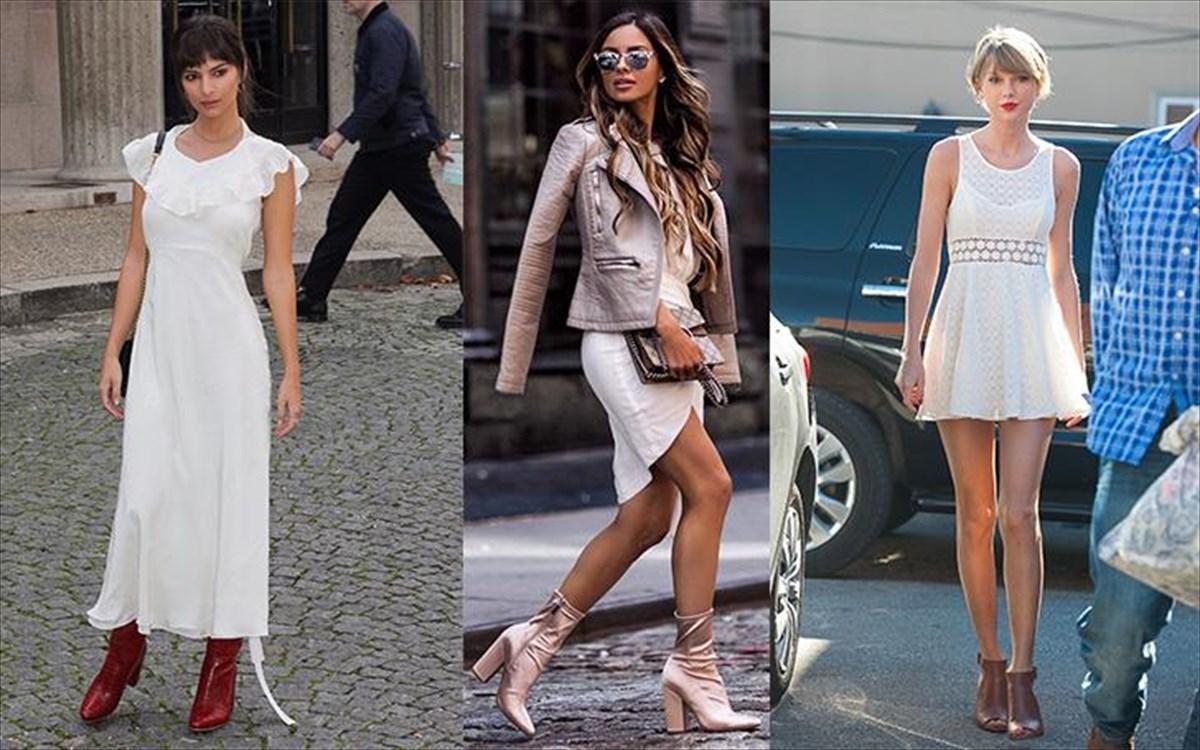 Το λευκό φόρεμα είναι το αγαπημένο της φετινής άνοιξης  4fad8566fd1