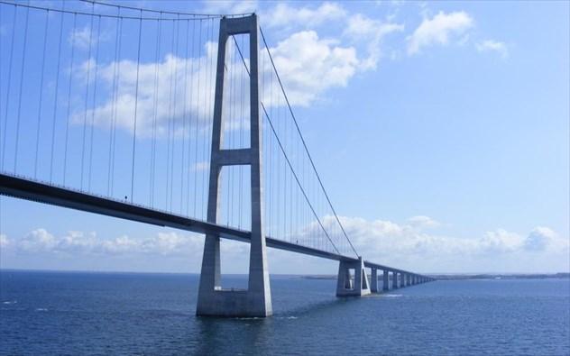 Η Great Belt Bridge είναι στην πραγματικότητα δύο γέφυρες bce326d8b70