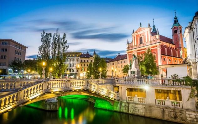 Λιουμπλιάνα: Tαξίδι στη λιλιπούτεια πρωτεύουσα της Σλοβενίας