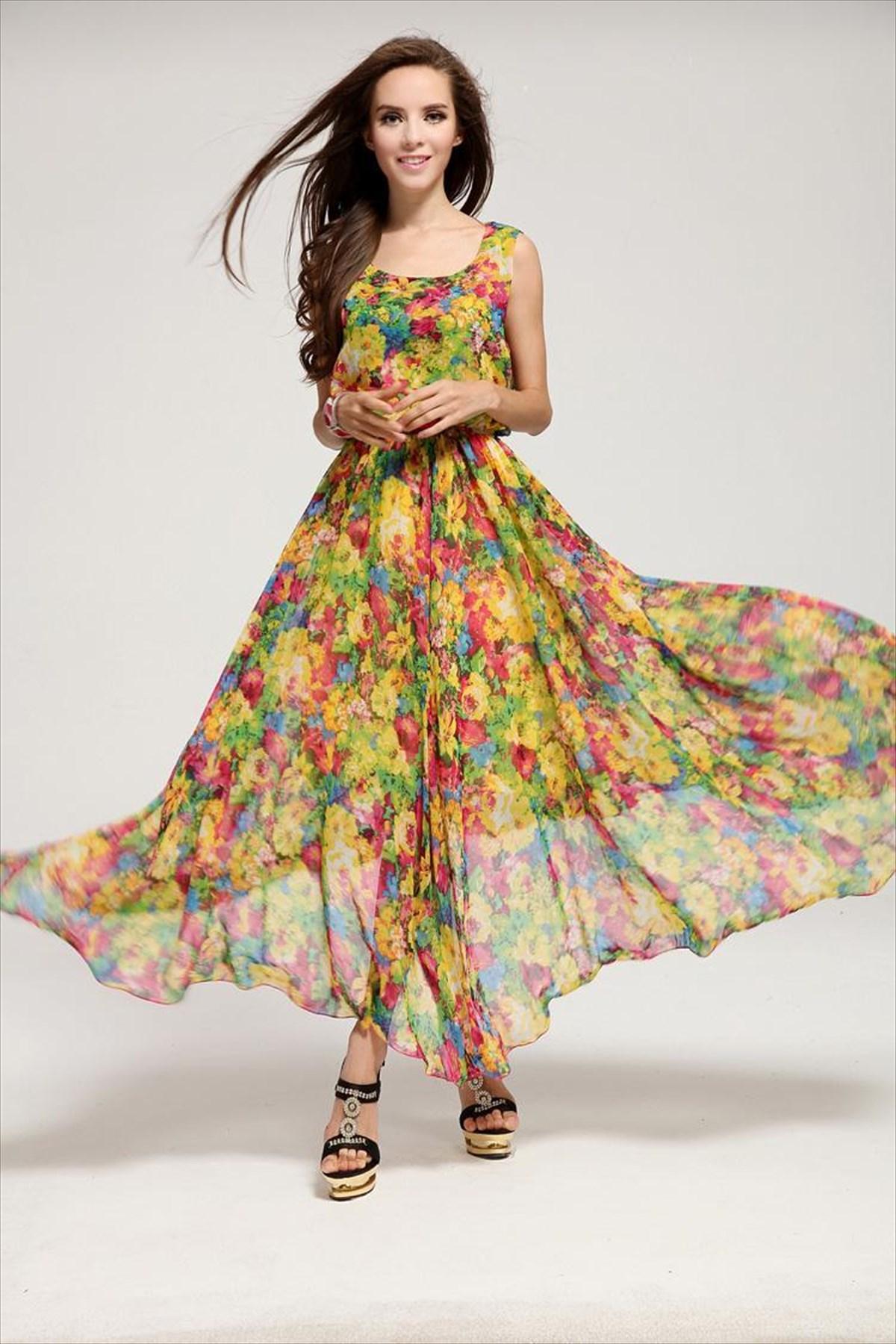 Τα floral φορέματα είναι θηλυκά 1b1bbe3ea7a