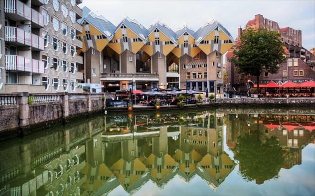 Ρότερνταμ: Η...φουτουριστική πλευρά της Ολλανδίας