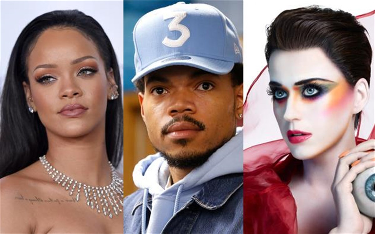 rihanna-chance-the-rapper-katy-perry