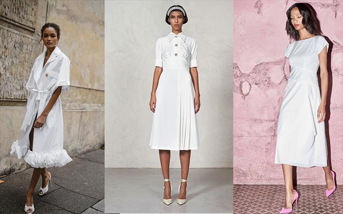 6bda74283971 Το λευκό φόρεμα είναι το αγαπημένο της φετινής άνοιξης