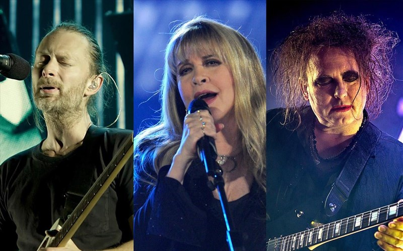 radiohead-stevie-nicks-kai-cure-mpainoun-sto-rock-and-roll-hall-of-fame