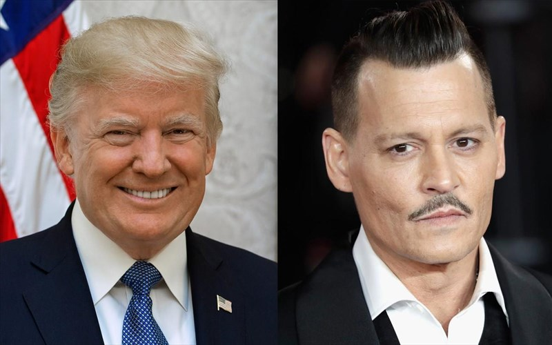 xrusa-batomoura-2019-donald-trump-enantion-Johnny-depp