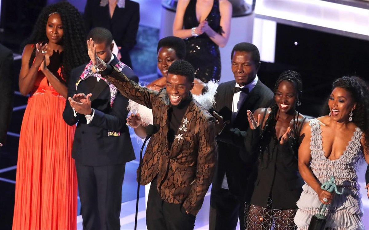 black-panther-cast-at-sag-awards