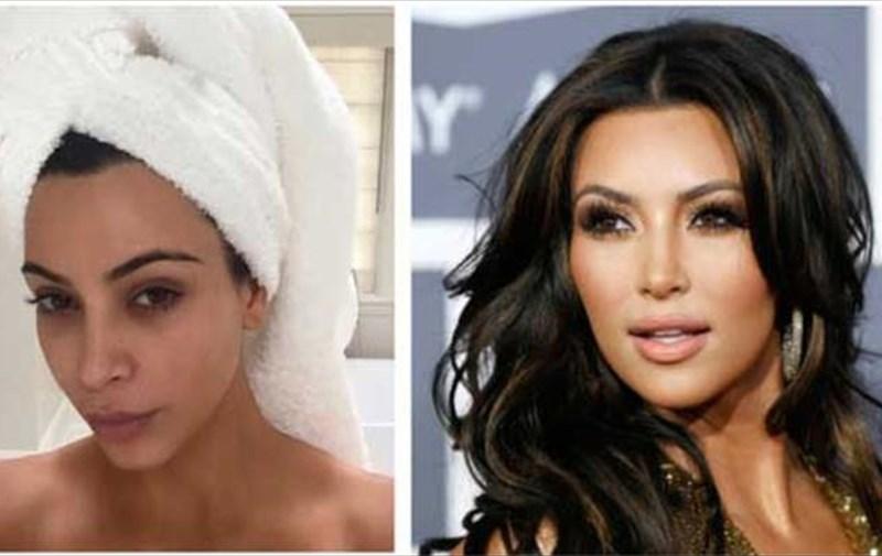 f38799661d1 Έχετε δει ποτέ την Kim Kardashian και την Lady Gaga χωρίς μακιγιάζ ...